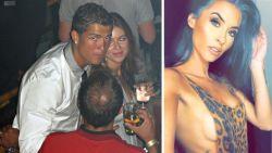"""Model zegt bewijzen te hebben tegen Cristiano Ronaldo: """"Hij is een psychopaat"""""""