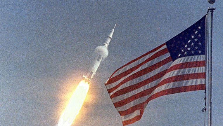 Apollo 11, de eerste maan-missie in 1969. Beeld reuters