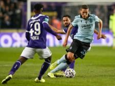 Bruges et Vanaken renversent Anderlecht