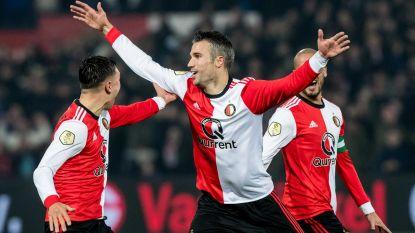 FT buitenland: Robin van Persie scoort eerste goal voor Feyenoord sinds terugkeer - Morten Olsen stopt als trainer
