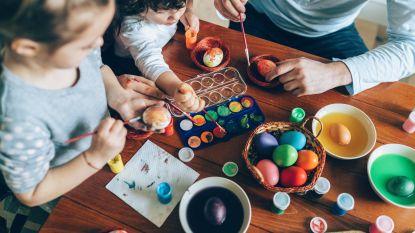 Tips van mama's voor mama's: originele eitjes schilderen voor Pasen