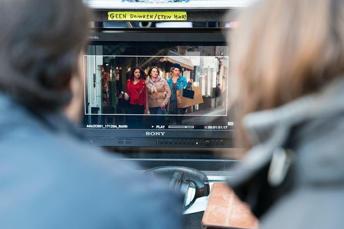 Opnames van de film Zwaar Verliefd in de Kolperstraat