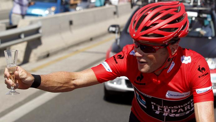 De Australiër Chris Horner won in 2013 op 41-jarige leeftijd de Vuelta.