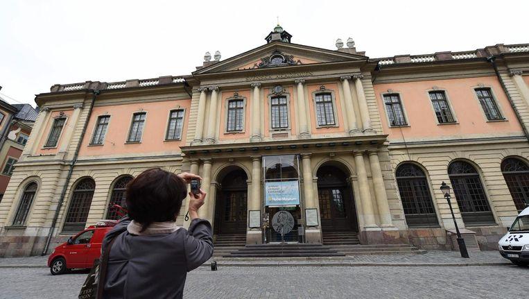 De Zweedse Academie. Beeld afp