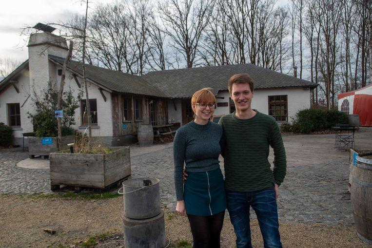Archiefbeeld : Shana en Robin namen Het Prullenbos in Wetteren eind vorig jaar over.
