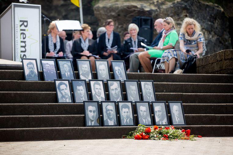 Bij de instorting van de Roosburg in Zichen lieten achttien mensen het leven, onder wie één vrouw en zeventien mannen.