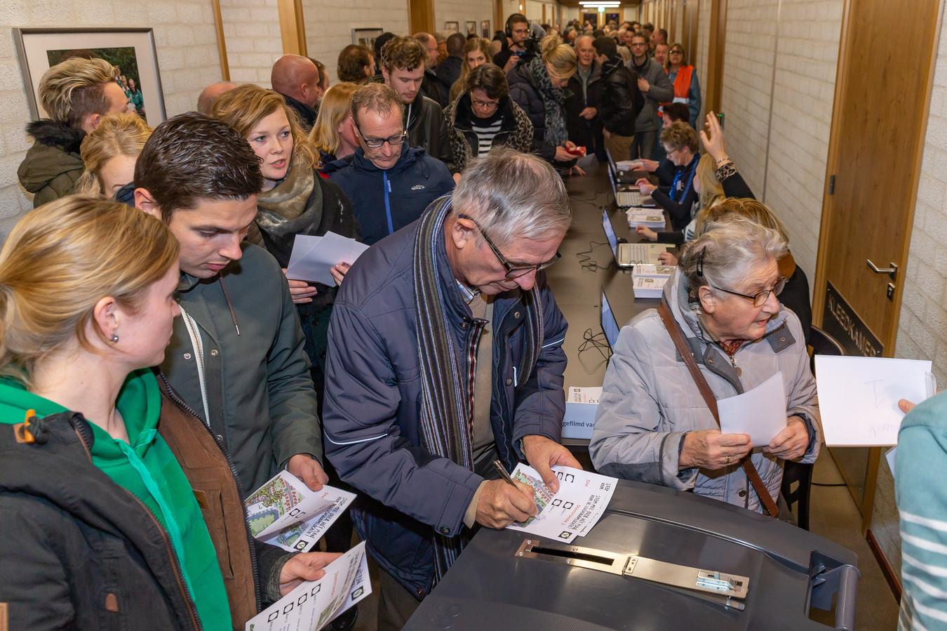 Inwoners van Rouveen kozen begin dit jaar via een stemming uit de 30 plannen voor de invulling van het braakliggende terrein waar ooit school De Levensboom stond.