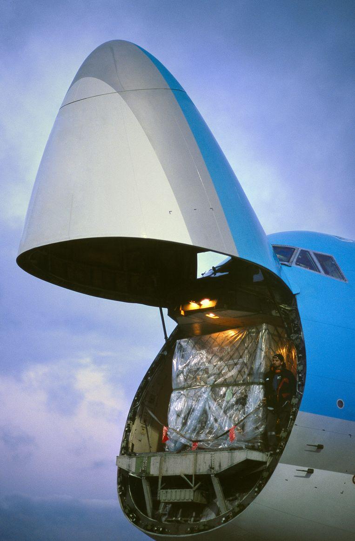 Een gemiddelde maaltijd heeft 30.000 kilometer afgelegd.  Beeld Universal Images Group via Getty/aviation-images.com