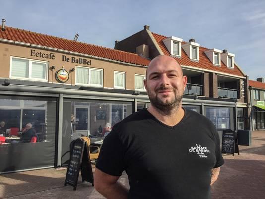Michael Tempelman van eetcafé De Babbel.