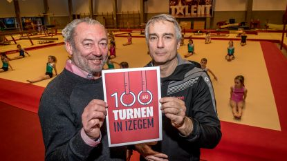 """Boek en tentoonstelling focussen op 100 jaar turnsport in Izegem: """"We hebben al Belgische, Europese en wereldkampioenen onder onze leden gehad. Nu willen we nog een Olympisch kampioen afleveren"""""""