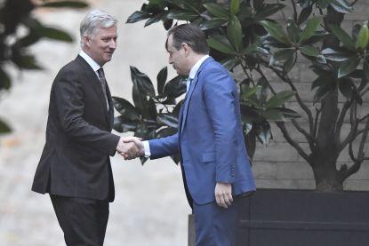Wachten op beslissing van koning Filip: vorst rondt consultaties met partijvoorzitters af