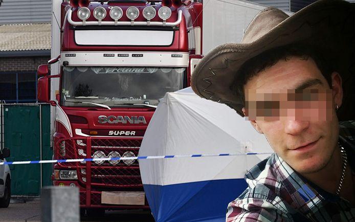 Trucker Mo Robinson (25) is opgepakt op verdenking van moord. De vraag is of hij wist of er mensen in de oplegger zaten.
