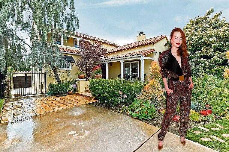 Emma Stone kocht deze villa.