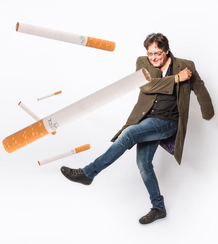 Kees stopt deze maand met roken.