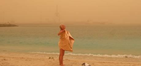 Canarische Eilanden dagenlang gegeseld door zware zandstorm