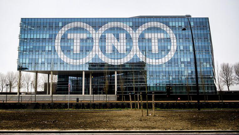 Het hoofdkantoor van TNT in Hoofddorp is het Europese hoofdkwartier van FedEx geworden. Beeld anp