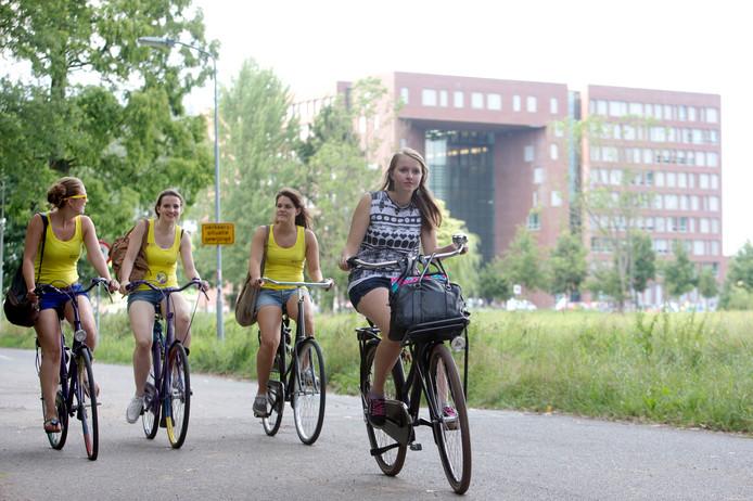 Introductieweek voor nieuwe studenten in Wageningen.