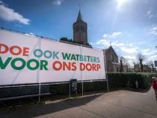 Mysterieuze spandoeken in Driel en Randwijk
