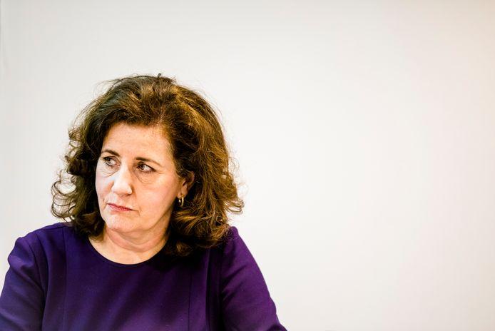 """AMSTERDAM - Minister Ingrid van Engelshoven (Emancipatie) wil in debat met Johan Derksen. Dat heeft ze donderdag gezegd in reactie op zijn homo-onvriendelijke uitspraken in het programma Veronica Inside. """"Ik vind zijn uitspraken pijnlijk"""", zegt de minister."""
