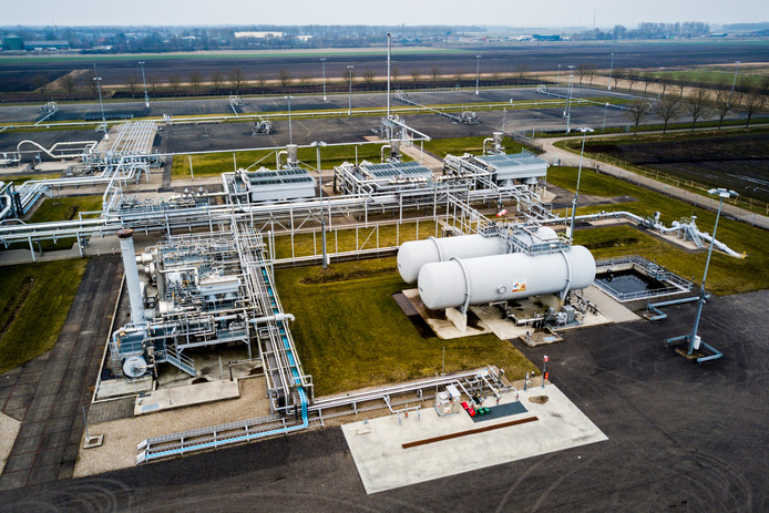 De gaswinningslocatie van de NAM in Muntendam zal op den duur gesloten worden. Woonwijken moeten op andere warmtebronnen overstappen.