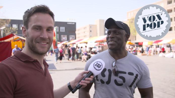 Roel Maalderink interviewt in een aflevering van Voxpop.