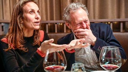 """Michel Preud'homme op z'n zestigste intens gelukkig met Marjorie Dourthe (44): """"De carrosserie heeft wel eens een deukje, maar de motor snijdt nog altijd (lacht)"""""""