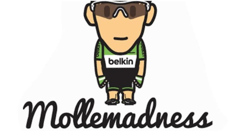 De gewraakte Mollema-sticker. Beeld Mollemadness.nl