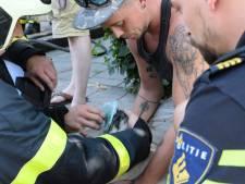 Brandweer redt hondje uit brandende woning in Goirle
