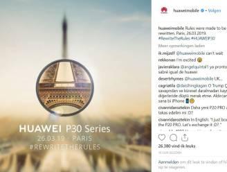 Smartphonefoto's? Nee, Huawei gebruikt professionele foto's in campagne
