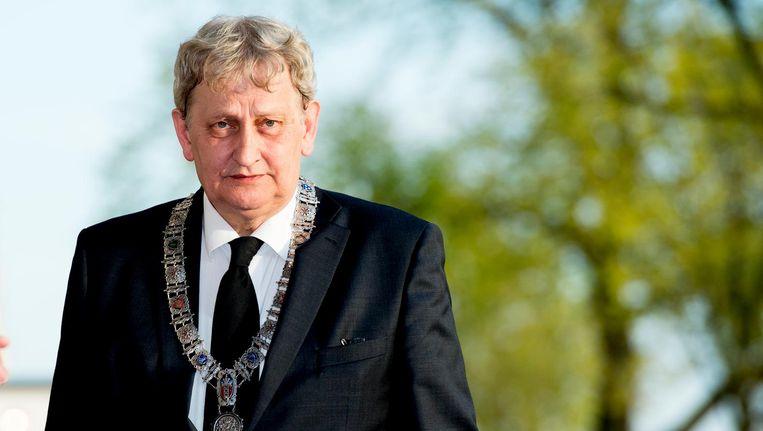 De Amsterdamse burgemeester Eberhard van der Laan in december 2016. Beeld null