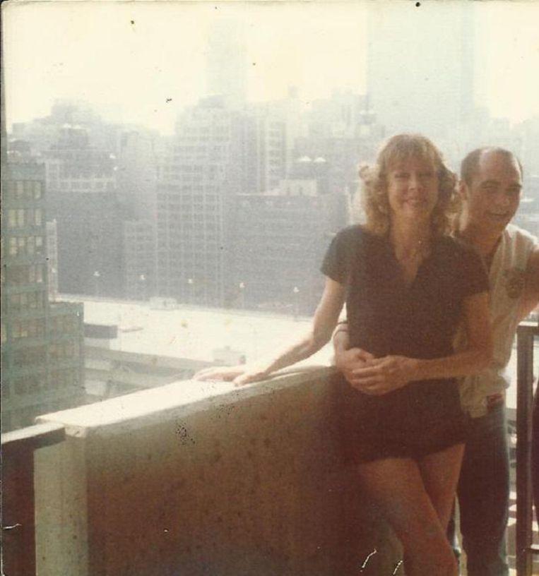 Gloria en Peter. Beeld Privé collectie van Peter Turner
