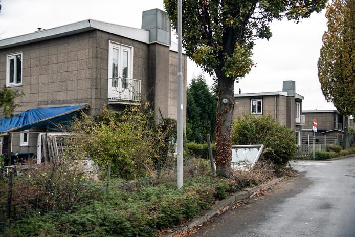 Beeld van het huidige Jerusalem. Deze woningen worden gesloopt en maken plaats voor nieuwbouw.