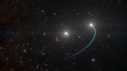 Dichtstbijzijnde zwart gat  ontdekt, op slechts duizend lichtjaar van aarde