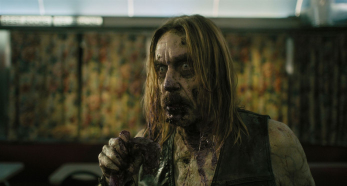 "Iggy Pop en zombie dans ""The Dead Don't Die""."