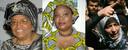 Presidente Liberia Ellen Johnson-Sirleaf, vredesactiviste Leymah Gbowee en verzetsleidster Tawakkul Karman uit Jemen.