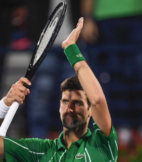 """Djokovic déroule et rend hommage à Sharapova : """"Une carrière fantastique"""""""