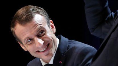 """Macron windt zich op na vraag van Belgische student: """"Wie zegt dat ik naar de pijpen van olielobby dans, die liegt"""""""