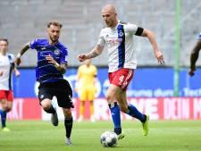 HSV laat koploper Bielefeld in topper ontsnappen