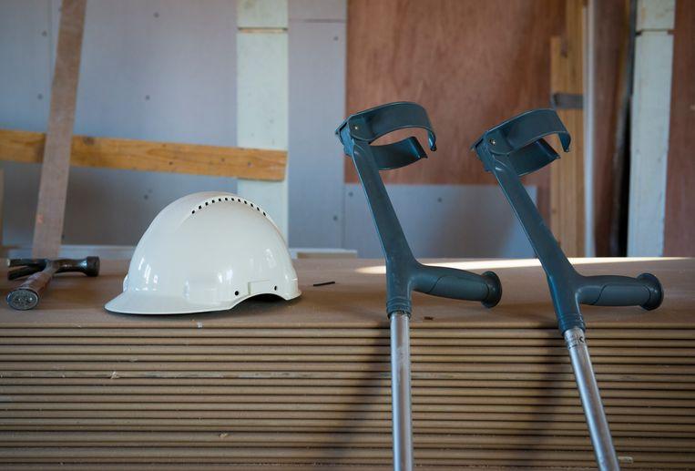 Bedrijfssluitingen zorgen voor een fikse vertraging in de reïntegratie van werknemers. Beeld ANP XTRA, Roos Koole