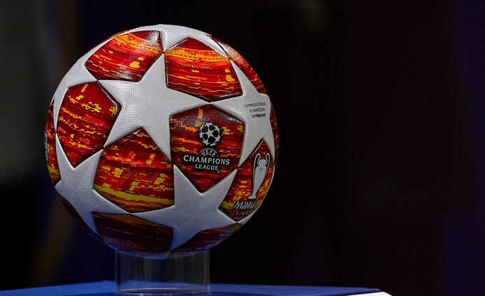 De Champions League-bal.