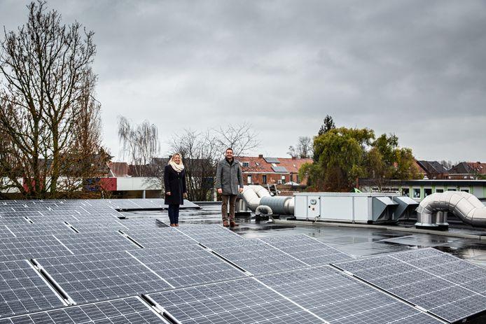De school investeerde 14.000 euro in zonnepanelen.