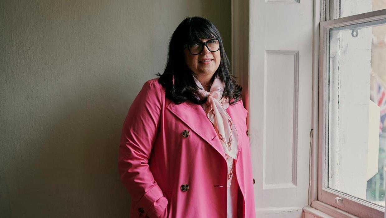 E L James, schrijver van Vijftig Tinten Grijs, over haar nieuwe boek De Mister
