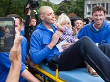 Huldiging in Waalwijk: 'We laten Maarten eerst nog even slapen'