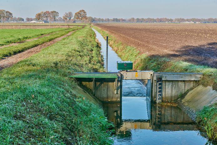 Stuwen in het gebied van Aa en Maas blijven hoog staan.