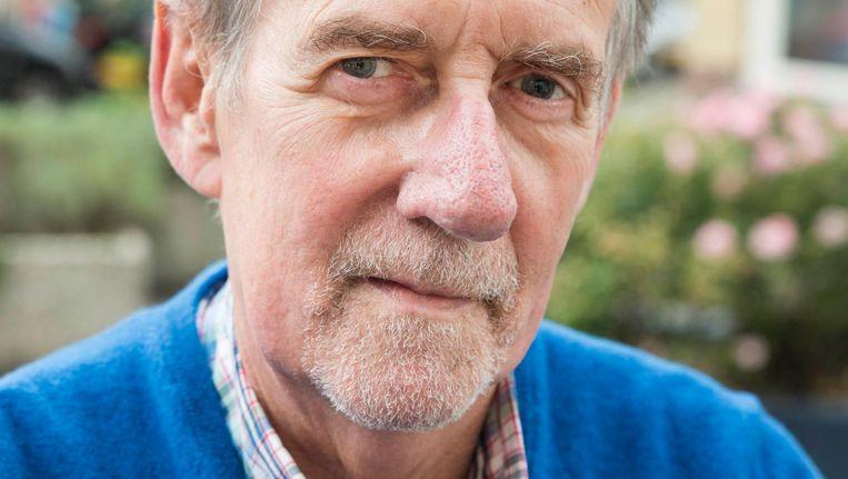 Paul Scheerder, oprichter van het Leefkringhuis, dat 'geengelulhulp' levert in de Vogelbuurt Beeld Charlotte Odijk