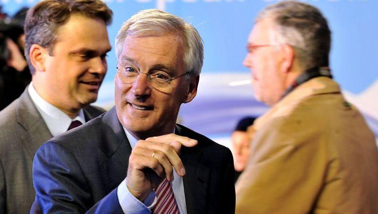 Ben Knapen, hier tijdens een EU-conferentie in Luxemburg. Beeld afp