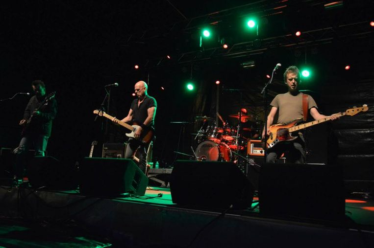 Frontman Ludo Mariman zakt zaterdag met zijn punkband The Kids af naar Sint-Lievens-Houtem