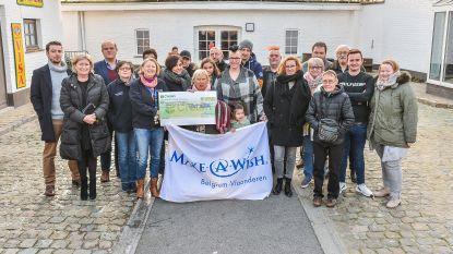 Cheque voor Make-a-Wish