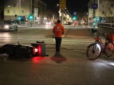Scooterbezorger opgepakt na aanrijding met fietsende maaltijdbezorger