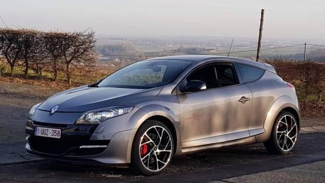 Al verschillende identieke feiten in Frankrijk maar nu ook bij ons sportieve Renault Mégane gestolen